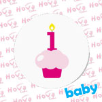 Baby One Month Birthday Cakes